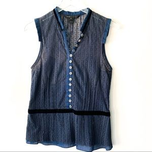 Marc Jacobs Sleeveless Blouse size 12 B258